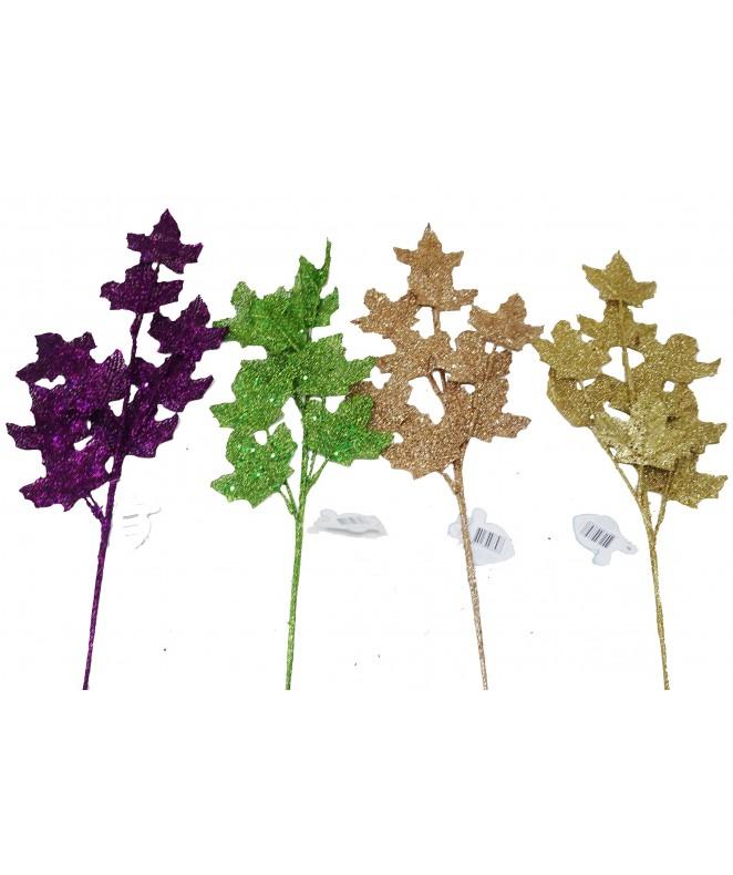 Ramas de 65 cm. Aprox. con 8 hojas. -