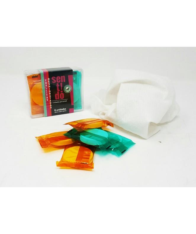Set de 6 esponjas deshidratadas - SET DE SPA