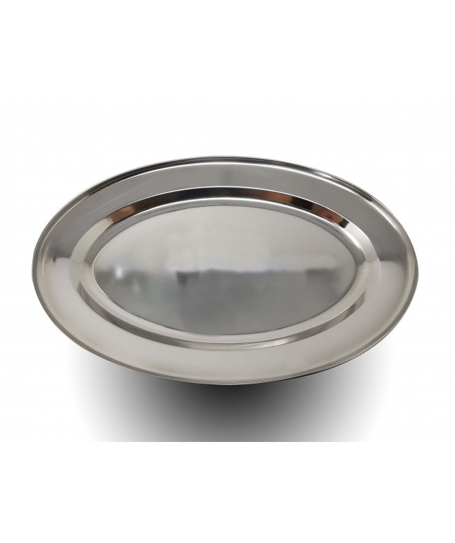 fuente oval. ac. inox. 40 cm - PARA SERVIR