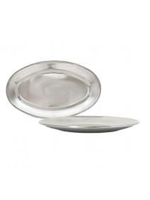 fuente oval. ac. inox. 35 cm - PARA SERVIR