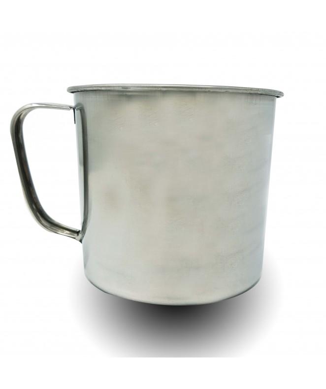 jarro acero inox 12 cm aprox - PARA COCCION