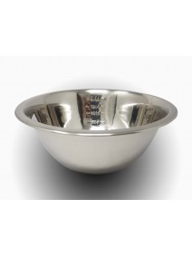 bowl ac inox c/ medidas 28 cm 3500cc p/batido - BOWLS Y ENSALADERAS