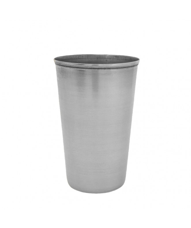 vaso acero 10 cm aprox - VAJILLAS Y VASOS