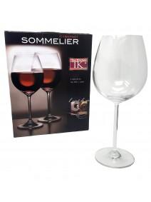 pk x2 copas de vino CABERNET 640cc aprox. - COPAS EN CAJA DE REGALO