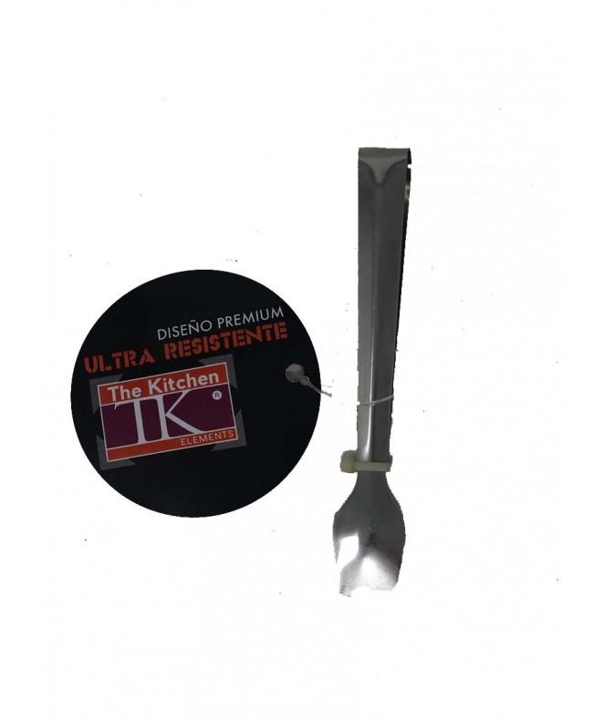 Pinza plana p/azúcar 11.5cm aprox-linea premium -1 - HERRAMIENTAS DE COCINA