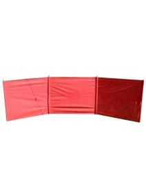Paraviento de playa - 4.5mt aprox - 100% polyester - PLAYA