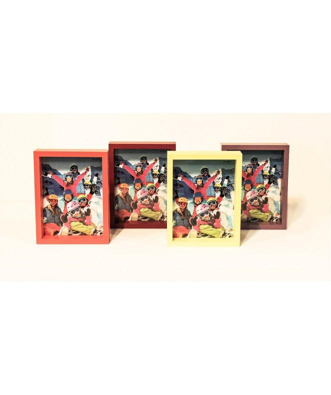 Portaretratos para fotos de 15x20cm 3 colores - SIMIL MADERA