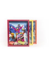 Portaretratos para fotos de 20x25cm 3 colores - SIMIL MADERA