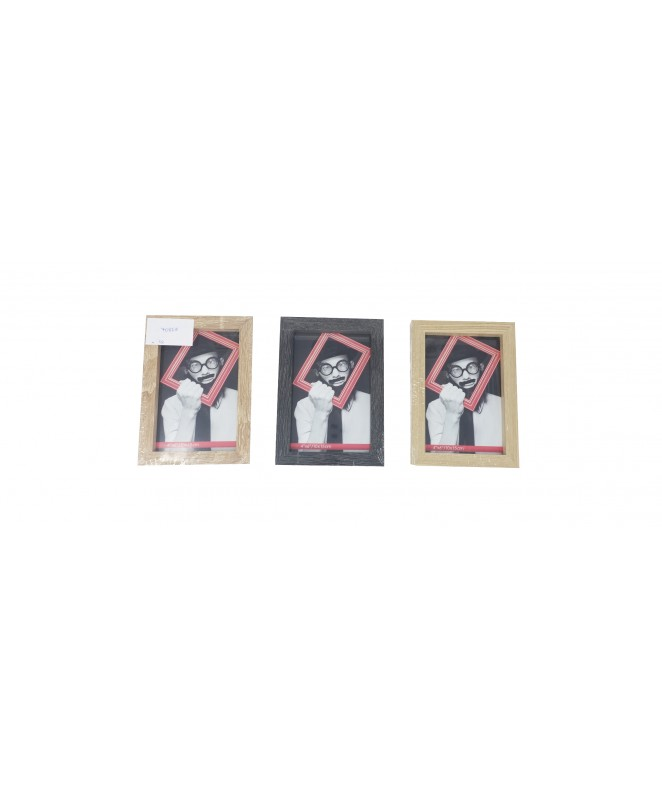 Portaretrato para foto de 10cm x15cm -MDF - SIMIL MADERA