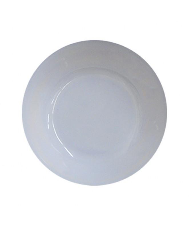 ensaladera redonda dec BLANCO 20 cm.aprox - BLANCA