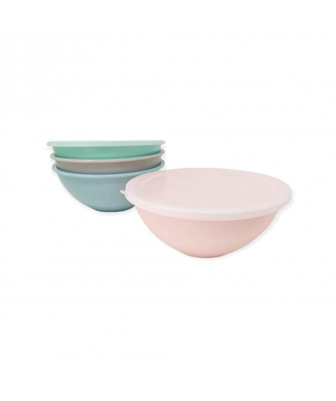 Bowl c/tapa melamina - 26.5*11cm aprox - COLORES
