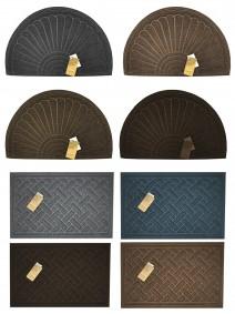 Felpudo con diseños vs - 55x35cm aprox- PP + cauch - FELPUDOS