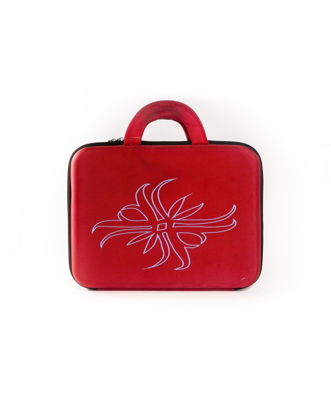 Bolso ideal p/notebook 35cm aprox. (decorado) - LIBRERIA