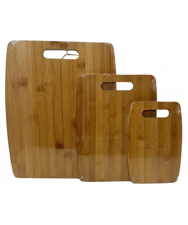 Tabla con asa 23x15cm aprox- Bambú - MADERA