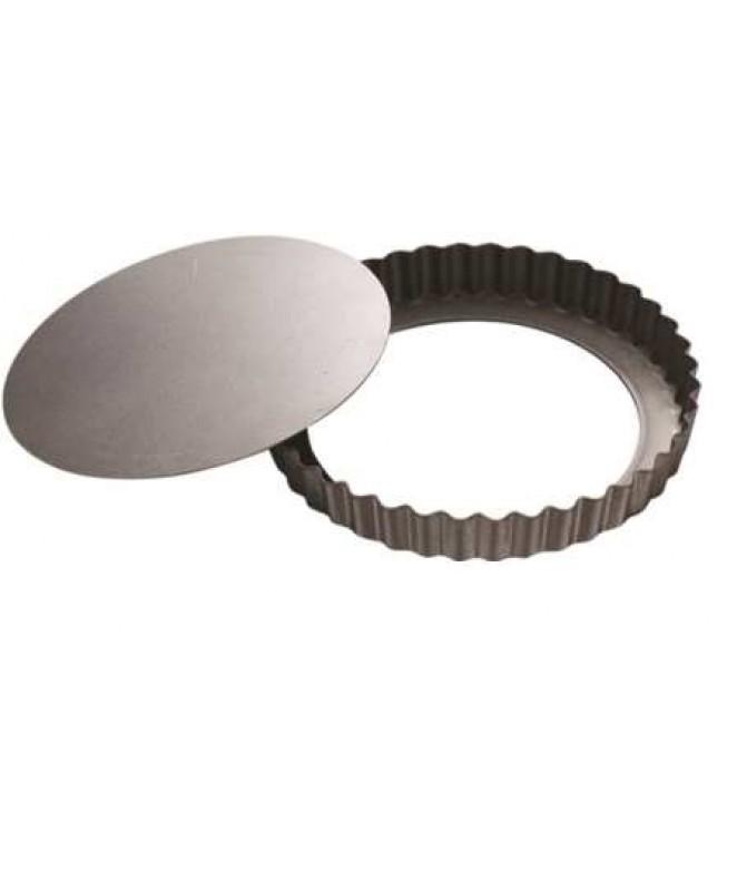 Molde p/tarta con base removible 20cm diam - TEFLON DISCONTINUO
