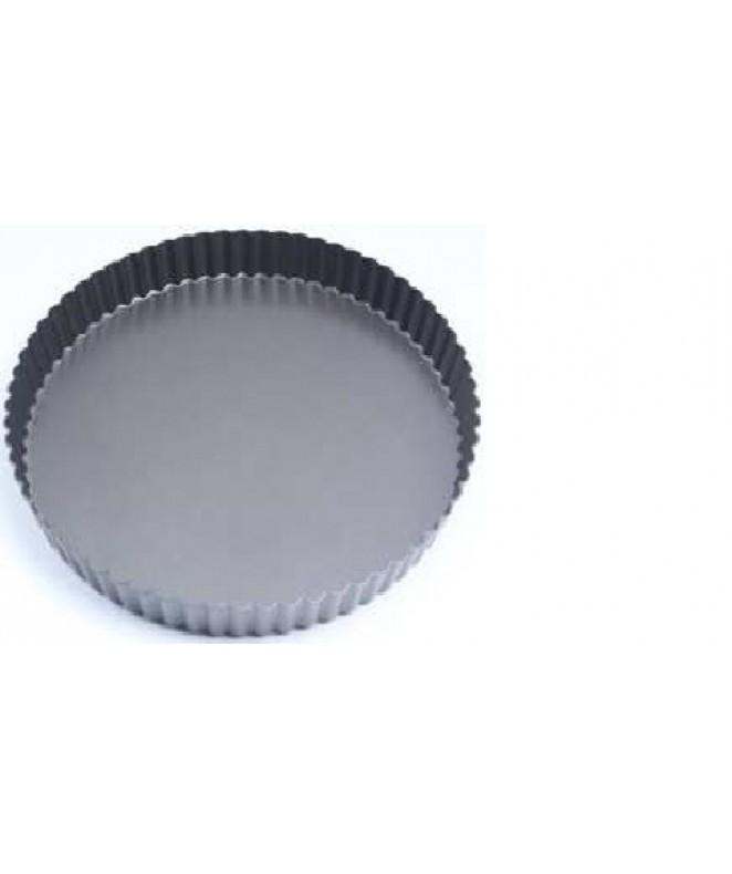 Molde p/tarta antiadherente 26cm diam - TEFLON DISCONTINUO
