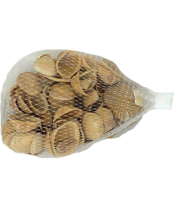 Caracoles naturales en red -150 g- - CARACOLES