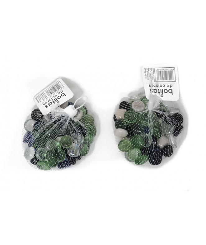 Perlas decorativas de colores - 260gr - PIEDRAS